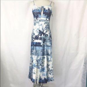 New Komarov Dress Floral Spaghetti Straps M